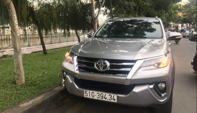 Bán Toyota Fortuner đời 2017, màu bạc, nhập khẩu