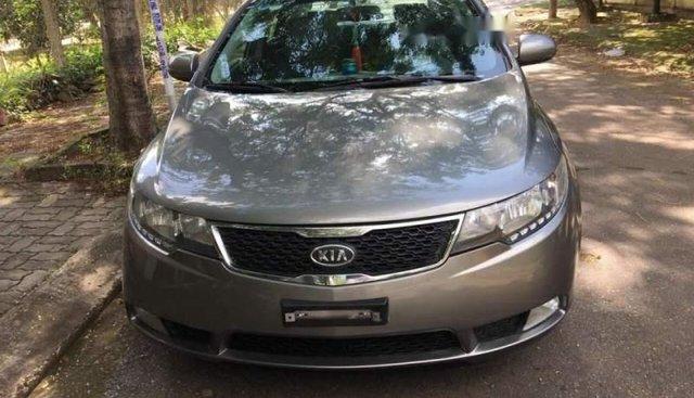 Bán xe Kia Forte đời 2013, màu xám, xe nhập, số sàn