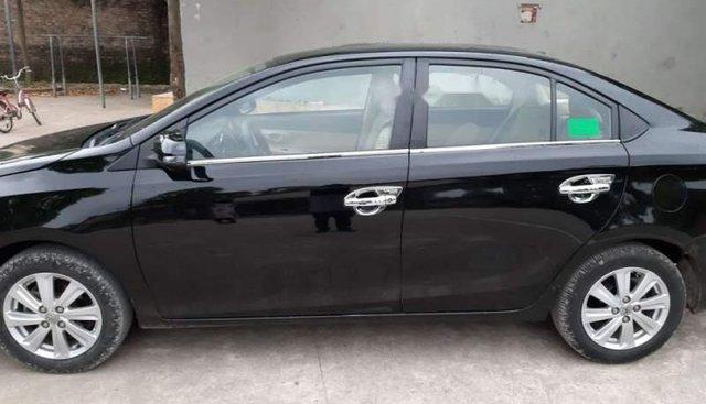 Bán xe Toyota Vios đời 2015, màu đen
