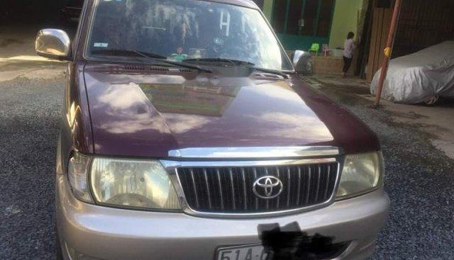 Bán xe cũ Toyota Zace GL đời 2004, màu đỏ, chính chủ
