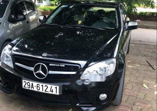 Cần bán lại xe Mercedes C200 2008, màu đen, 400tr