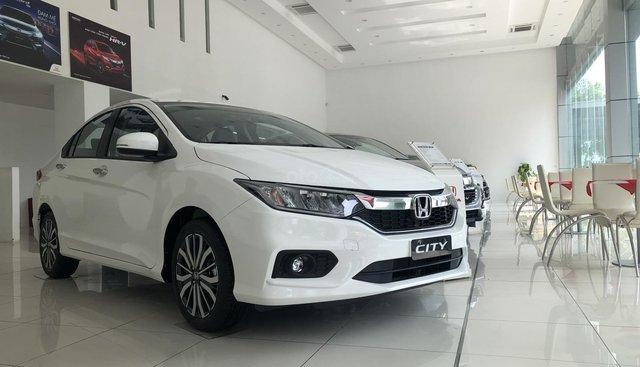 Cần bán xe Honda City đời 2019, mới cứng, màu trắng