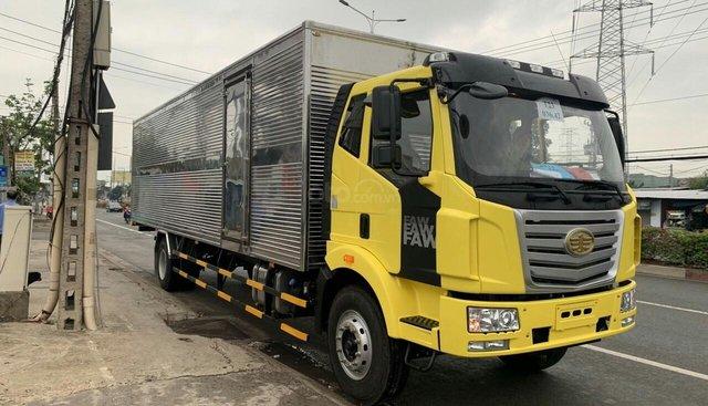 Bán xe ô tô tải trọng 7,25 tấn thùng dài 9,7 mét, nhãn hiệu FAW 2019, giá tốt