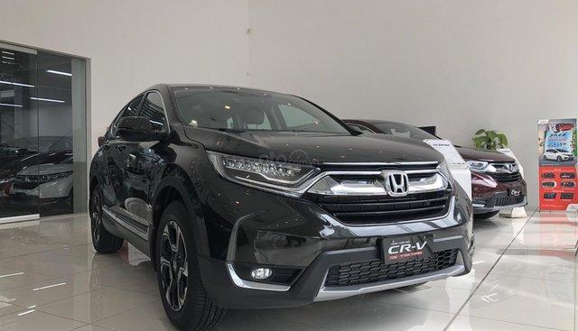 Cần bán xe Honda CRV đời 2019, mới cứng, màu đen