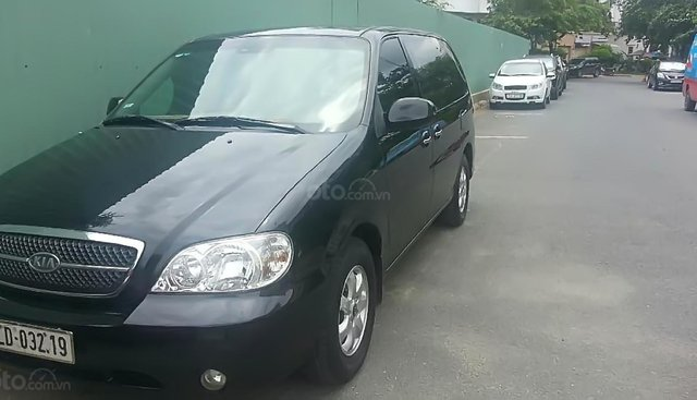 Bán Kia Carnival GS 2.5 AT sản xuất năm 2008, màu đen