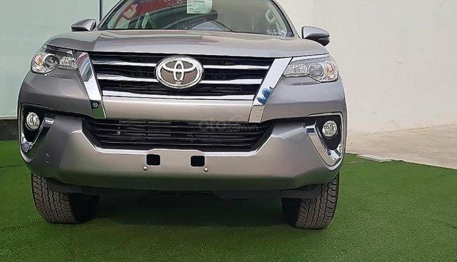 Bán Toyota Fortuner sản xuất 2019, màu bạc, xe nhập