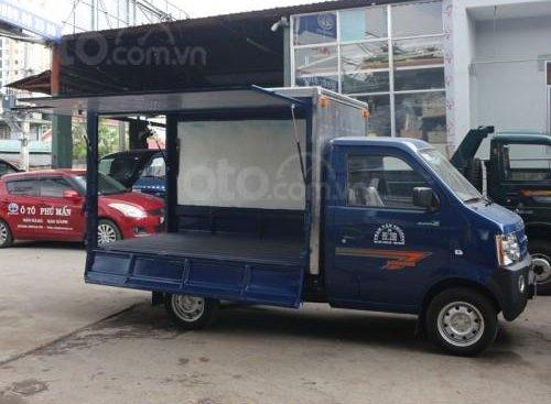 Bán xe tải nhẹ Dongben 770kg thùng cánh dơi, trả trước 40tr nhận xe