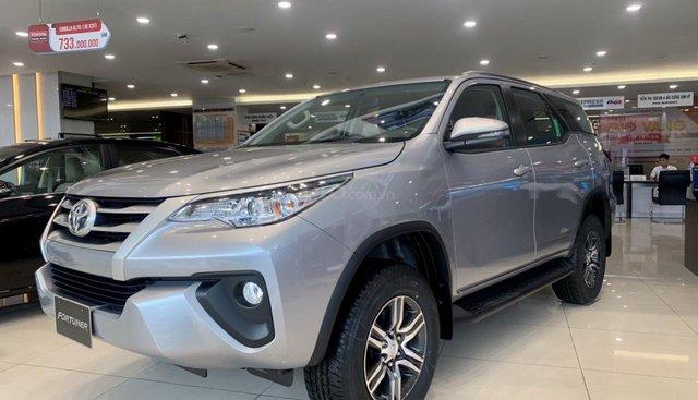 Bán Toyota Fortuner 2.4G AT 2019, đủ màu, giao ngay, hỗ trợ trả góp Lãi suất cực tốt, LH ngay 0978835850