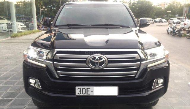 Bán Toyota Land Cruiser VX sản xuất 2016, màu đen, nội thất đen, LH 0981235225 - 0941686611