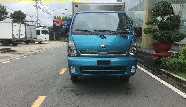 Bán xe tải giá tốt - Kia K250 thùng kín- dài 3,5m- tải 2,4T/ 1,4T- hỗ trợ trả góp 75%- LH 038 655 9879