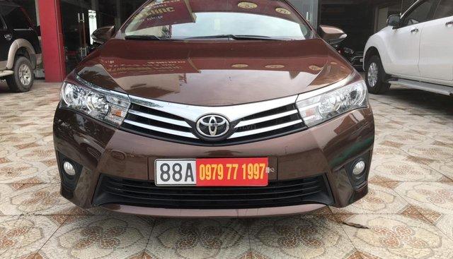 Bán Toyota Corolla altis màu đồng 1.8 2015