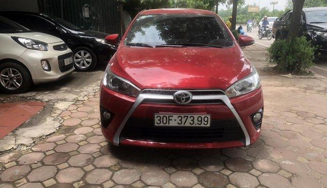 Bán Toyota Yaris G 1.3 AT, màu đỏ, xe nhập khẩu