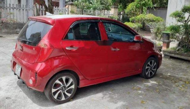 Cần bán lại xe Kia Morning sản xuất năm 2017, màu đỏ chính chủ