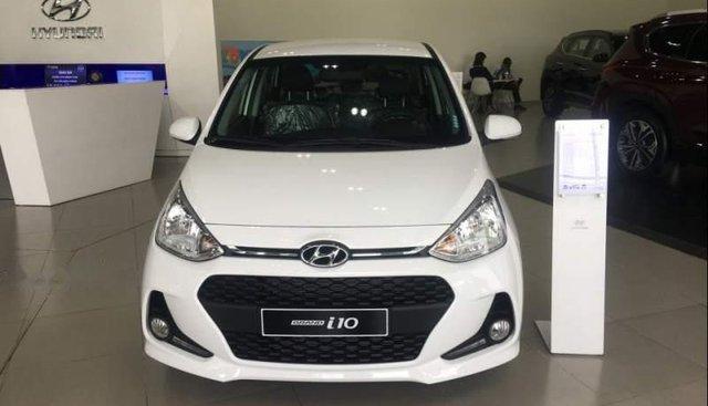 Bán xe Hyundai Grand i10 sản xuất 2019, màu trắng