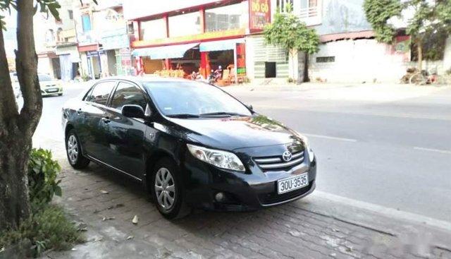 Cần bán gấp Toyota Corolla XLi sản xuất 2009, màu đen số tự động, giá 450tr