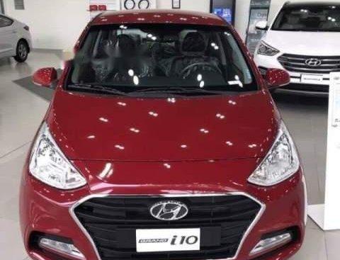 Bán ô tô Hyundai Grand i10 đời 2019, màu đỏ, 330 triệu