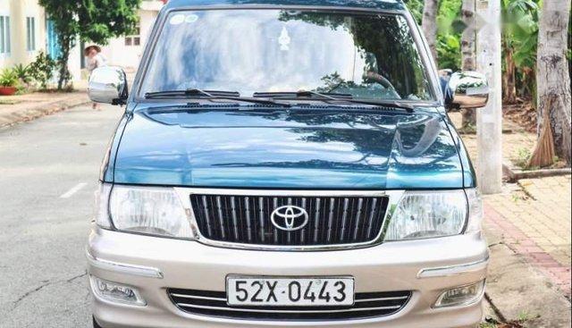 Gia đình bán xe Toyota Zace GL năm 2003, màu xanh dưa
