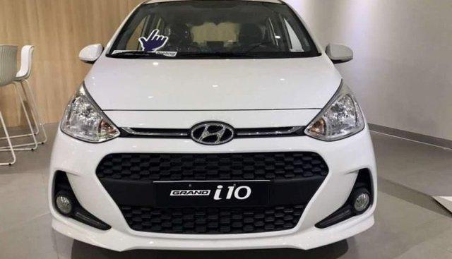 Bán Hyundai Grand i10 1.2 MT BASE đời 2019, màu trắng