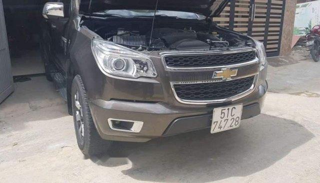 Bán Chevrolet Colorado sản xuất năm 2017, màu nâu