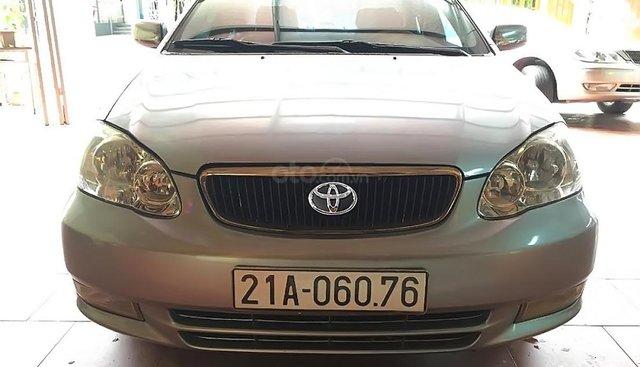 Chính chủ bán Toyota Corolla altis 2003, màu bạc