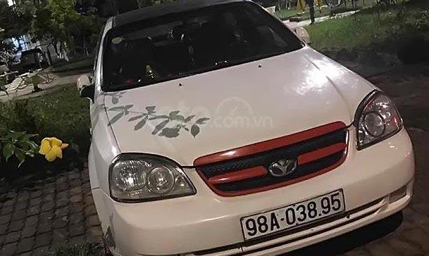 Bán Daewoo Lacetti sản xuất 2005, màu trắng, 129tr