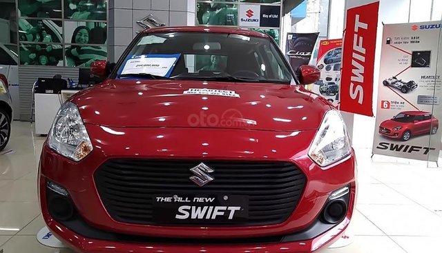 Bán xe Suzuki Swift GL 1.2 AT đời 2019, màu đỏ, xe nhập, giá 499tr
