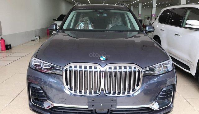 Bán BMW X7 xDrive40i nhập Mỹ, sản xuất 2019, xe giao ngay. LH: 0906223838