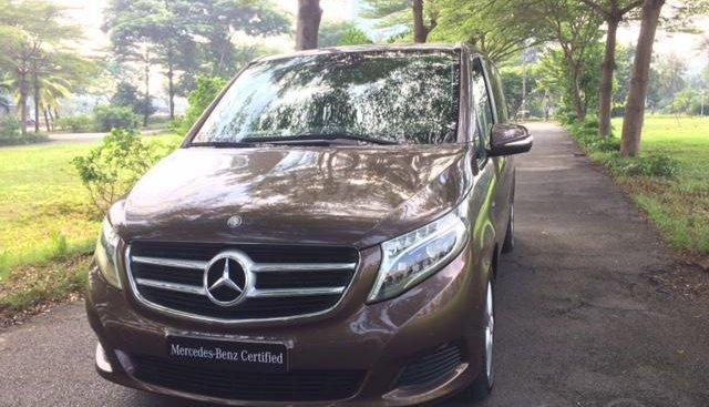 Bán Mercedes-benz V220CDI 2016, xe cũ chính hãng, 7 chỗ, nhập khẩu