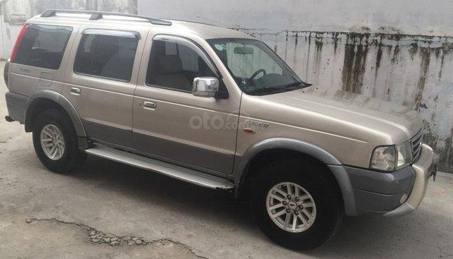 Gia đình cần bán xe Everest 2007 Đk 2008, số sàn, máy xăng, màu hồng phấn