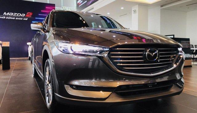 Bán xe Mazda CX-8 2.5 đời 2019, màu xám