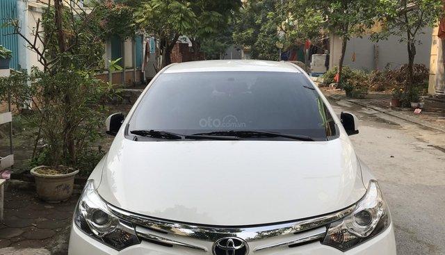 Chính chủ bán Toyota Vios G đăng ký T12/2017, màu trắng