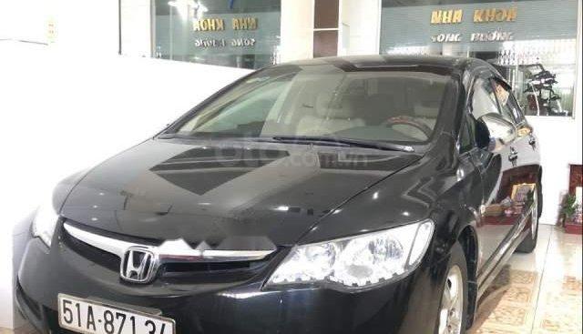Bán xe Honda Civic 1.8 AT sản xuất 2007, màu đen, ít sử dụng