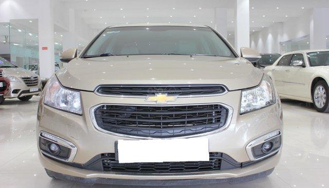 Bán xe Chevrolet Cruze LTZ 2016 màu vàng cát