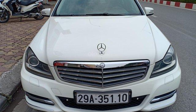 Bán ô tô Mercedes C250 sản xuất 2011, màu trắng, giá tốt