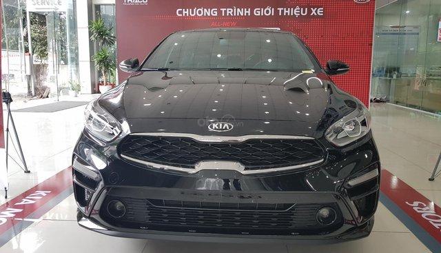 Bán xe Kia Cerato 2019 Duluxe màu đen