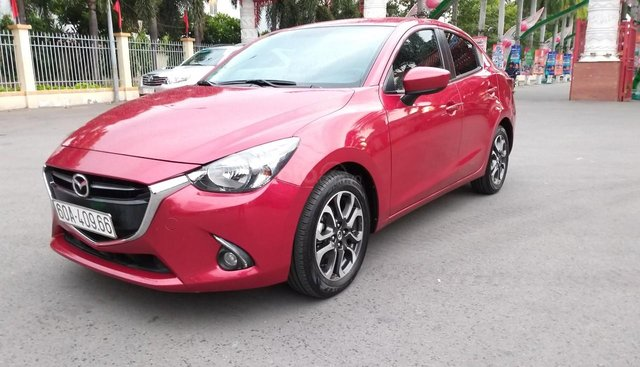 Mazda 2 1.5L AT model 2017, màu đỏ, nhập khẩu còn mới toanh, mới 99% luôn, giá chỉ 480 triệu