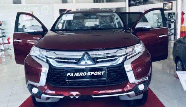Bán xe Mitsubishi Pajero sản xuất 2019, màu đỏ