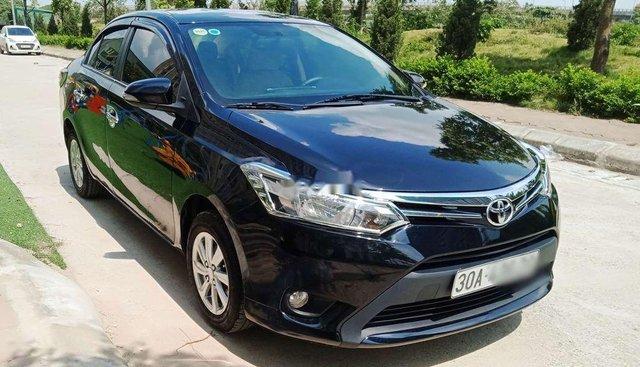 Bán Toyota Vios năm sản xuất 2015, màu đen, chính chủ Hà Nội, full đồ