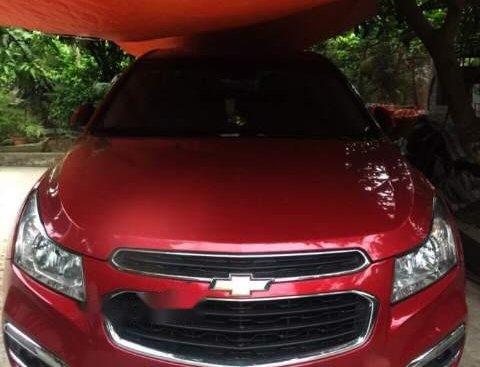 Bán Chevrolet Cruze LTZ đời 2016, màu đỏ số tự động