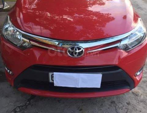 Bán Toyota Vios năm sản xuất 2015, màu đỏ số sàn giá cạnh tranh