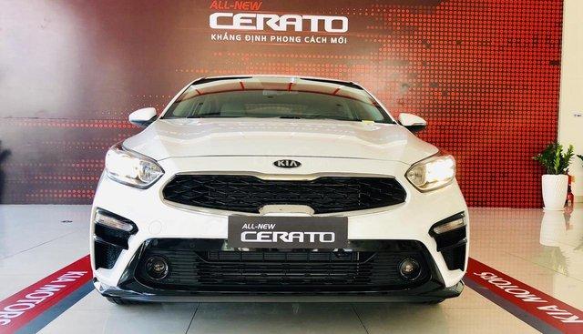 Bán Kia Cerato 1.6 Deluxe 2019, ưu đãi tiền mặt + tặng BHVC