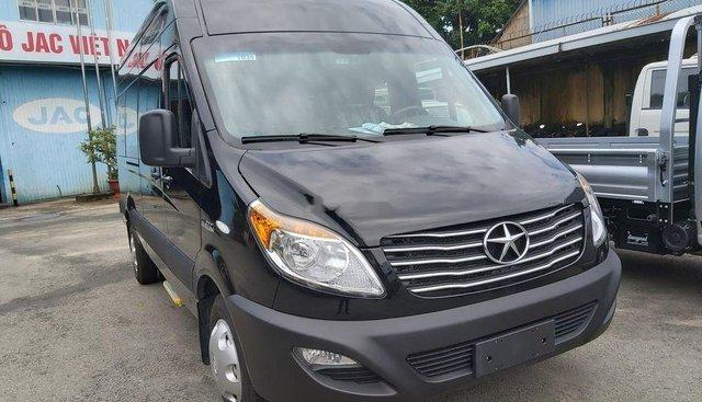 Bán xe JAC 16 chỗ năm sản xuất 2019, màu đen, 709tr