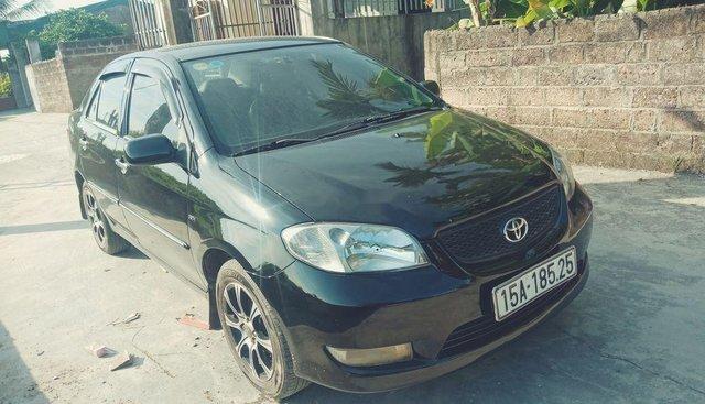 Bán Toyota Vios sản xuất 2005, màu đen, xe gia đình