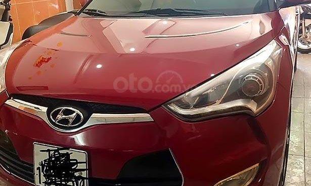 Bán Hyundai Veloster đời 2011, màu đỏ, nhập khẩu nguyên chiếc, chạy 72000 km