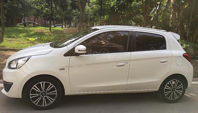 Bán Mitsubishi Mirage năm sản xuất 2016, màu trắng, nhập khẩu Thái, một chủ sử dụng