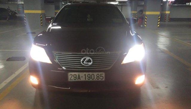 Cần bán Lexus LS 460L đời 2007, màu đỏ, nhập khẩu nguyên chiếc
