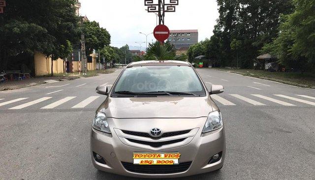 Cần bán xe Toyota Vios 1.5G đời 2009, màu vàng cát. Quá mới chất lượng không cưỡng được