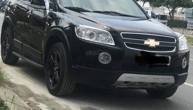 Cần bán xe Chevrolet Captiva 2.4 năm 2007, màu đen, số tự động. Nhập khẩu nguyên chiếc