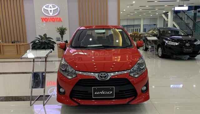Bán xe Toyota Wigo 1.2G (AT) nhập khẩu nguyên chiếc Indonesia tại Hải Dương, bán trả góp 80%, LH 0936.688.855 em Hưng