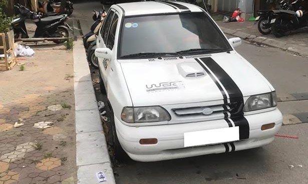 Bán Kia Pride năm 2001, màu trắng, giá cạnh tranh